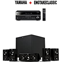 Yamaha RX-V585BL 7.2-Channel 4K Ultra HD AV Receiver + Klipsch HDT-600 Home Theater System Bundle