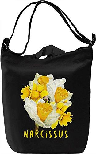 Narcissus Borsa Giornaliera Canvas Canvas Day Bag| 100% Premium Cotton Canvas| DTG Printing|
