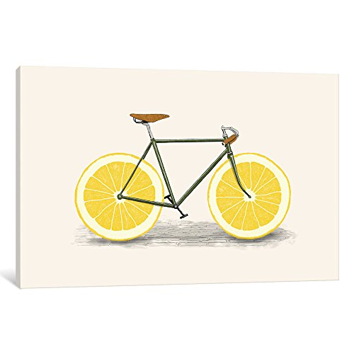 """iCanvasART FLB58 Zest Gallery Wrapped Canvas Art Print By Florent Bodart, 8"""" x 0.75"""" x 12"""" from iCanvasART"""