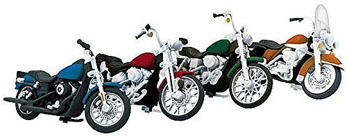 SP Whistle Stop MTH30-11085 No. 2 O Motorcycle Set - Pack of 4 from SP Whistle Stop