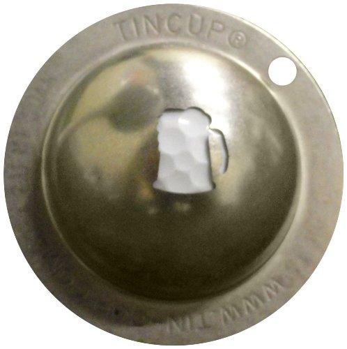 Tin Cup 19th Hole Golf Ball Marking Stencil, Steel