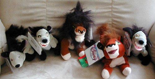 Disney's Banzai, Shenzi, Ed, Kovu and Scar From Lion King Sold Individually (The Lion King Shenzi Banzai And Ed)