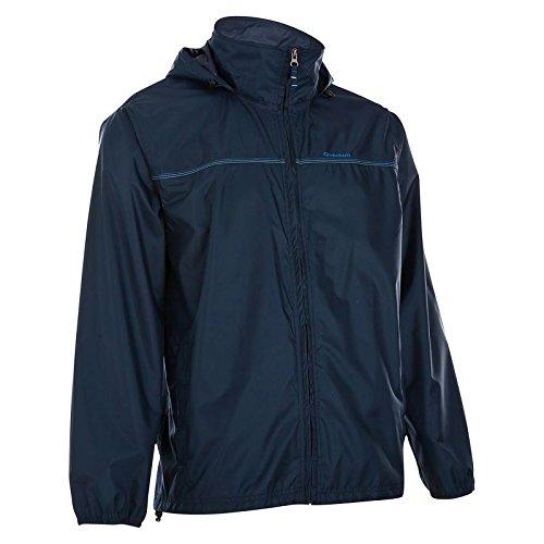 Quechua-Raincut-Zip-Jacket-Navy