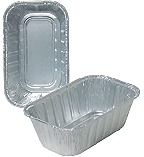 Durable Packaging Disposable Aluminum Loaf Pan, 1 lb (Pack of 500)