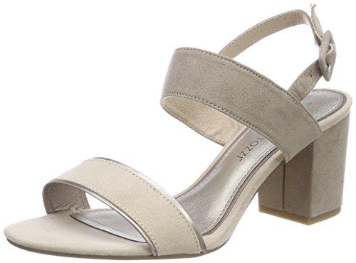 Marco Tozzi Women's 28308 Sling Back Sandals Beige (Dune Comb 435) HZzLxS