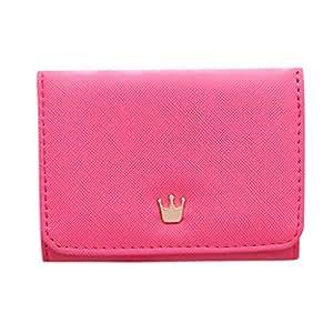 Amazon.com: Freesa - Monedero para mujer, diseño de corona ...
