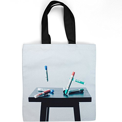 Westlake Art - Marker Dry-Erase - Tote Bag - Picture Photography Shopping Gym Work - 16x16 Inch (D41D8)