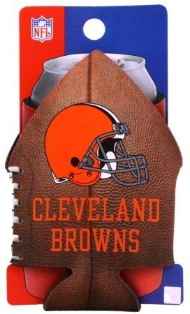 CLEVELAND BROWNS NFL CAN COOLIE KOOZIE COOZIE COOLER   B002NLVWG0