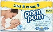 Kit Sabonete Infantil PomPom Hidratante, 80g, 5 unidades