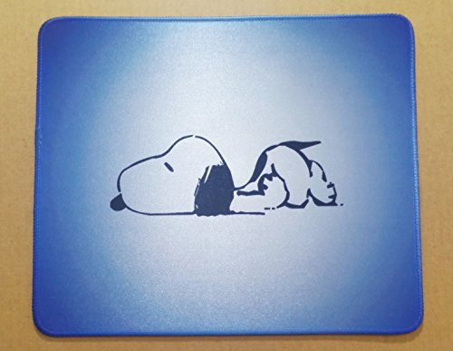 12x10 Inch Snoopy Cartoon Cute Big Peauts Mousepad Q Large Mouse Pad Mouse mat Waterproof (Snoopy Computer Mouse)