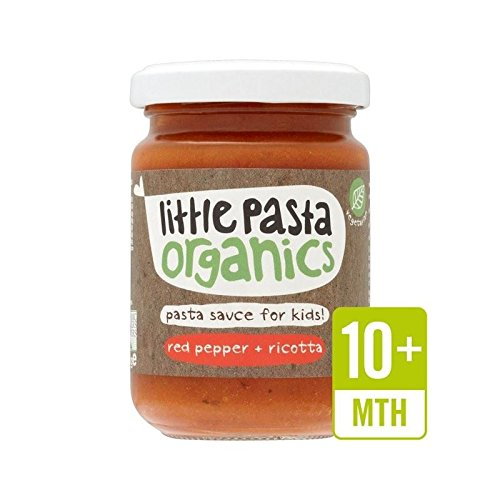 Little Pasta Organics Free From Red Pepper & Ricotta Pasta Sauce 130g