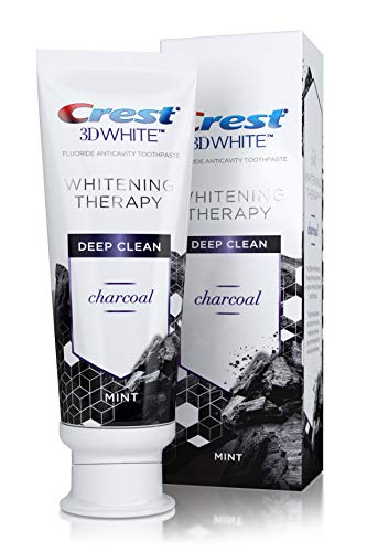 Crest 3D White Whitening Therapy Deep Clean Charcoal 4.1 Oun
