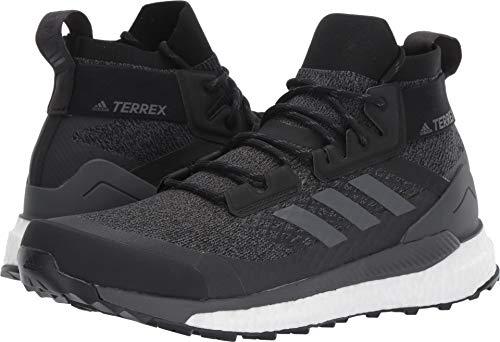 adidas outdoor Terrex Free Hiker Boot - Men's Black/Grey Six/Active Orange, 10.0