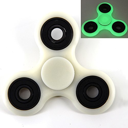 EPABO / 3D Spinner Fidget EDC Tri-Spinner Toy ADHD Focus Toys High Speed 1-3 Min Spins Precision Hand Spinner Fidgets for Kids & Adults - Best Stress Reducer Relieves Boredom / Killing Time (1)