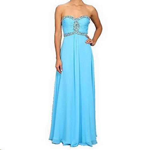 Faviana Women's Strapless Sweetheart Corset Back Dress 7366 Marine Blue Dress (Faviana Homecoming Dress)