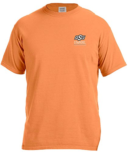 NCAA Oklahoma State Cowboys Adult NCAA Life is Better Comfort Color Short sleeve ()