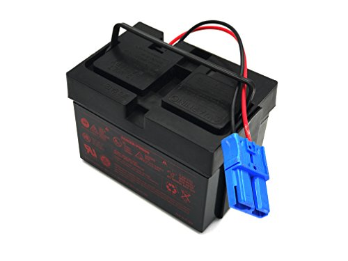 Kid Trax Large Blue Plug 12 Volt 12ah Replacement Battery. MEASURE YOUR PLUG. Only replaces Kid Trax 12V Batteries with the words ANDERSON POWER on the blue plug by CBC