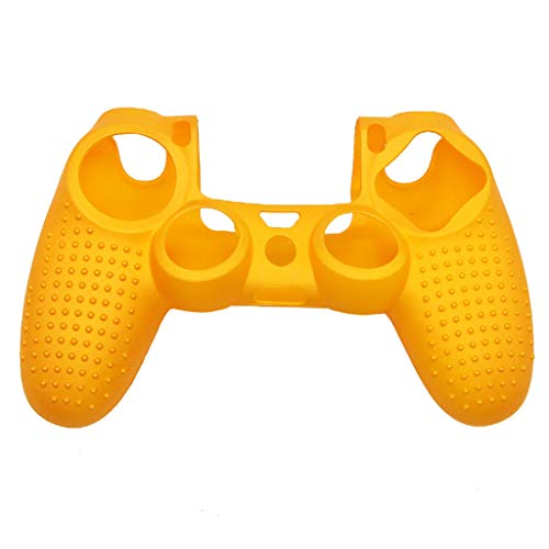 CZYCO Soft Camouflage Silicone Case Cover For Playstation PS4 Controller Let You Have a Better Game Feel(Gold)