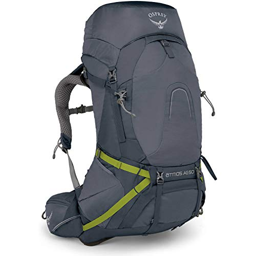 Osprey Packs Atmos Ag 50 Backpacking Pack, Abyss Grey, Medium by Osprey (Image #2)