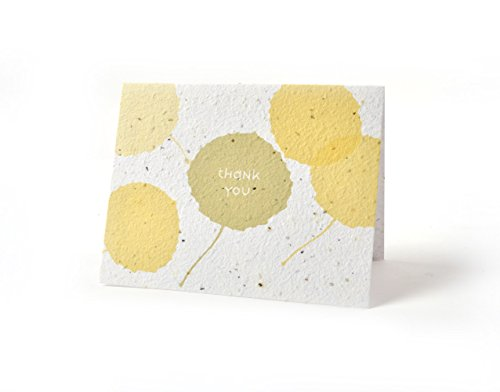 Bloomin Thanks A Bunch Seed Paper Greeting Cards - Poplar {8 Pack}