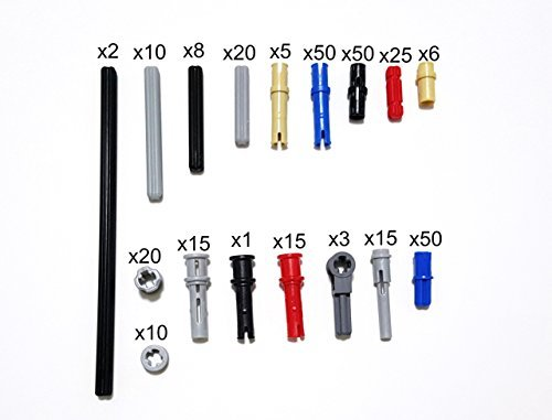 LEGO TECHNIC pin/axle/bar/bushing/connector set 305 pieces