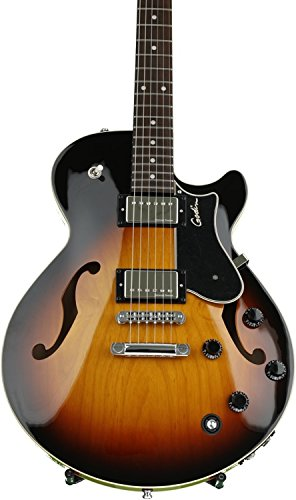 Godin Guitars 039074 Montreal Premiere TriplePlay Semi-Hollow-Body Electric Guitar