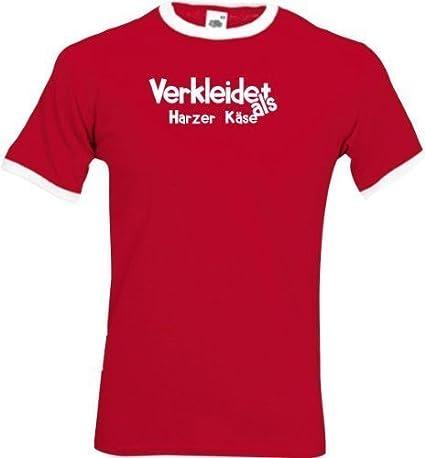 Luchador Camiseta Carnaval Verkleidet como Harz Queso Disfraz De Carnaval Revestimiento, S-XXL - blanco-negro, XXL: Amazon.es: Juguetes y juegos