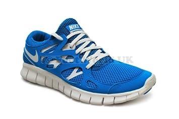 Nike Free Run 2 NSW Herren Blau/Weiß: Amazon.de: Sport & Freizeit