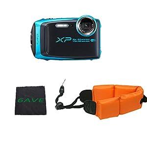 Fujifilm FinePix XP120 Waterproof Digital Camera International Model (Sky Blue)