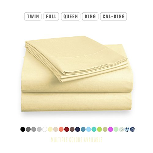 Luxe Bedding Sets Sheets Vanilla product image