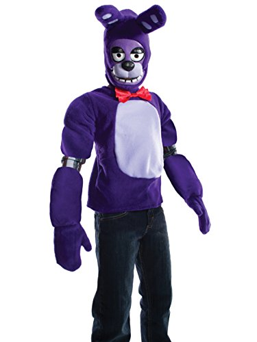 Rubie's Costume Boys Five Nights at Freddy's Bonnie The Rabbit Costume, Large, -