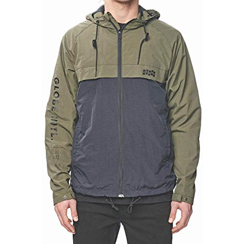 Jacket Verde nbsp;giacca Globe nbsp;– Zip Thru ivy International Uomo OzTxTnwta