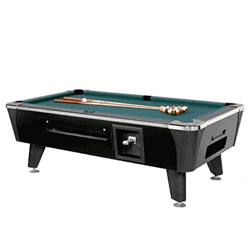 Valley-Dynamo Dynamo Black Sedona Coin Operated 7' Pool Table
