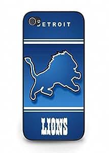 iPhone 5C Detroit Lions Nfl Football resistente Material plástico caso diseño