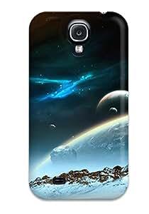 VrzflQH220slPxU Case Cover, Fashionable Galaxy S4 Case - Space Art