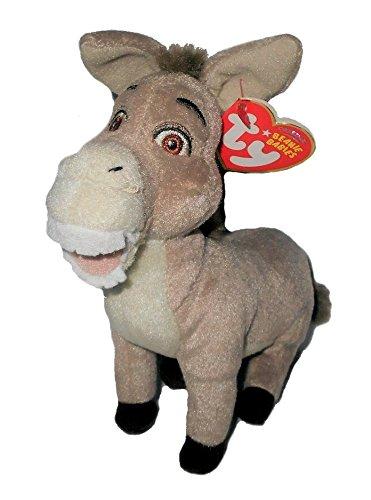 Amazon.com  Ty Beanie Babies - Shrek the Third Donkey - Retired ... 6b05d46ec21