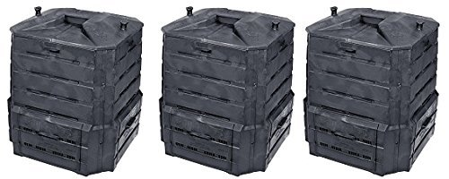 Algreen Products Soil Saver Classic Compost bin (3-(Pack))