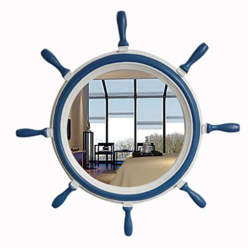 Makeup Mirror Wall Hanging Mirror, HD Make Up Wall Mounted Mirrors Mediterranean -