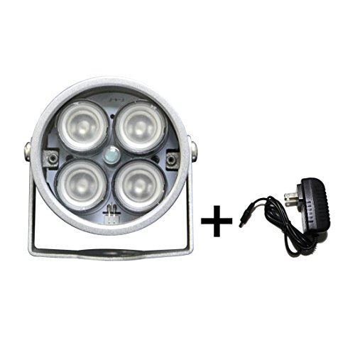 Univivi U03R WideAngle 90 Degree 4pcs High Power LED IR