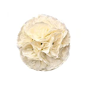 10 Pack 9.84 Inch Romantic Rose Pomander Flower Balls for Wedding Centerpieces Decorations 5
