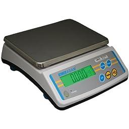 Adam Equipment LBK 12a Compact Bench Scale, 12lb/6000g Capacity, 0.002lb/1g Readability