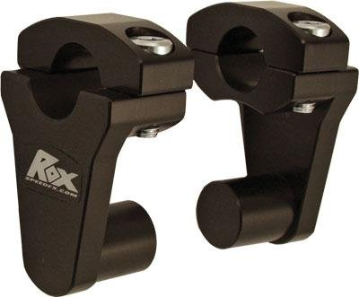 Rox Speed FX Elite Series Pivot Handlebar Riser - 2in. - Black 1R-P2SEK (Series Handlebar Controls)