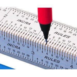 Incra BNDRUL18 18-Inch Incra Rules Marking Rule