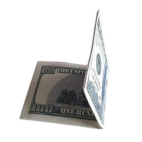 Cuero de la PU Exterior Moneda Notas Patrón Libra Dólar ...