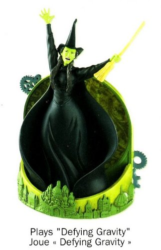 Wicked Defying Gravity 2010 Carlton Heirloom Ornament
