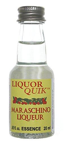 Liquor Quik Natural Liquor Essence, 20 mL (Maraschino Cherry Liqueur) (Luxardo Cherry Liqueur)