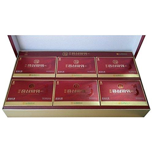NH HANSAMIN Korean Fermentative Red Ginseng Power Gold Beverage 50 ml x 30 Packs by Hansamin