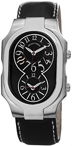 Philip Stein Signature Leather 2 BK CSTB product image