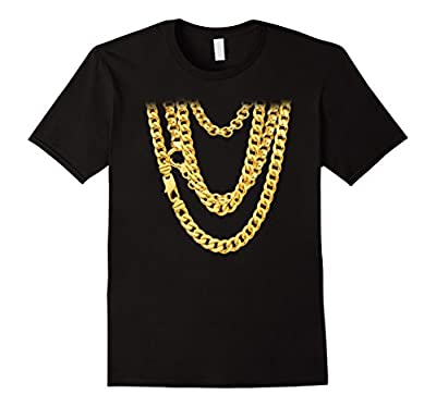 Hip-Hop Chains Funny T-Shirt