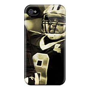 (wjJTRnQ-4897)durable Protection Case Cover For Iphone 4/4s(new Orleans Saints)
